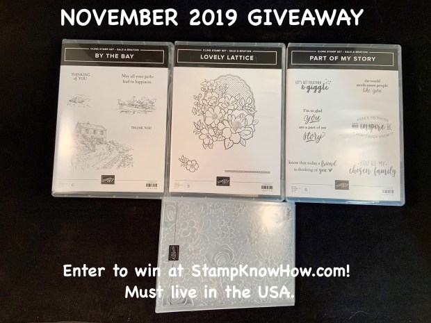 Enter to win at StampKnowHow.com! Must Live in the USA.