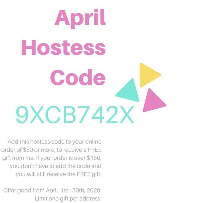 Stampknowhow.com April Hostess Code