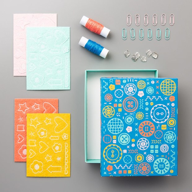 Follow Your Art Embellishment Kit by Stampin Up image