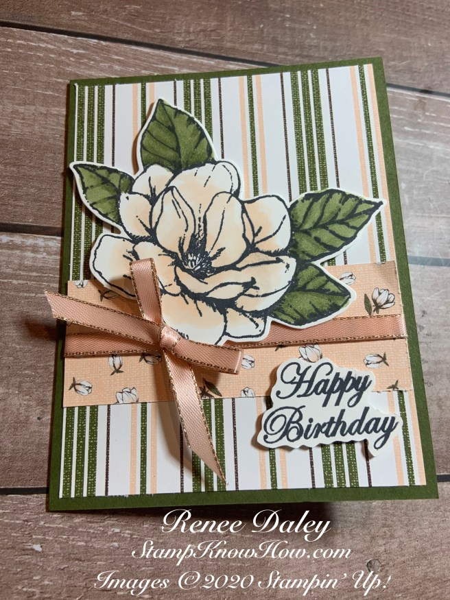 Good Morning Magnolia Birthday Card image