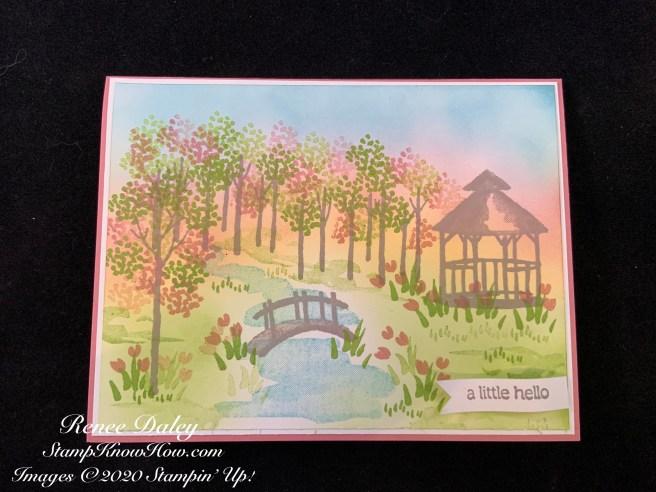 My Meadow Hello Card