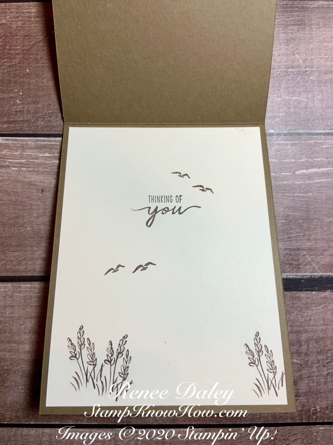Inside image of Beautiful Moments Card