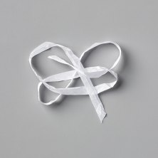 "Whisper White 1/4"" Crinkled Seam Binding Ribbon by Stampin' Up"