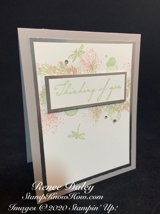 Soft Spring Sympathy Card
