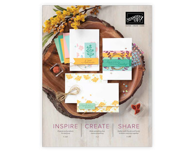 Stampin Up Annual Catalog Cover Image