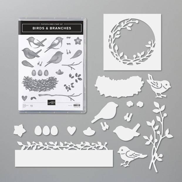Stampin Up Birds and Branches Bundle  Image