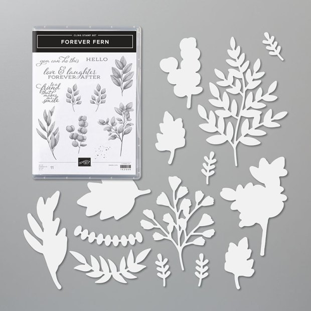 Forever Fern Bundle From Stampin Up image