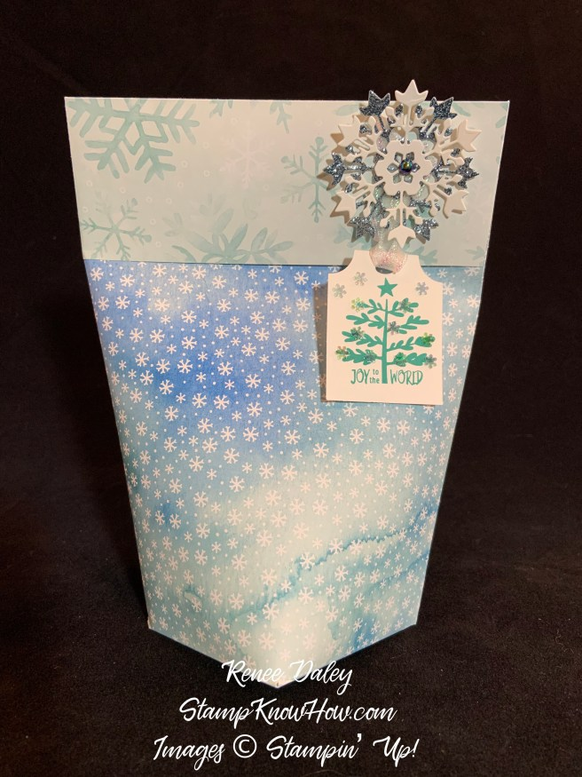 Snowflake Version of the Everything Essential Gift Bag