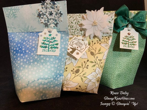 Gift Bag using Stampin Up Everything Essential Bundle