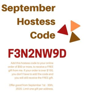 StampKnowHow Sept 2020 Stampin Up Hostess Code