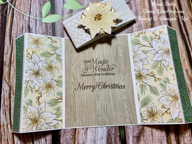 Image of the Poinsettia Petals Christmas Card