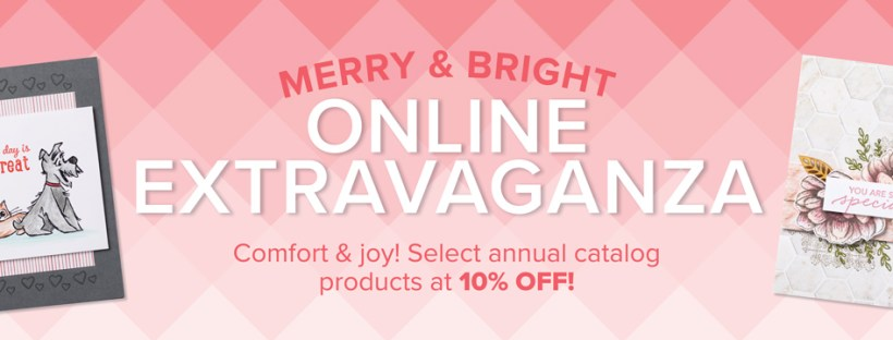Stampin Up Online Extravaganza Sale