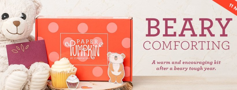 Stampin Up December 2020 Paper Pumpkin Kit