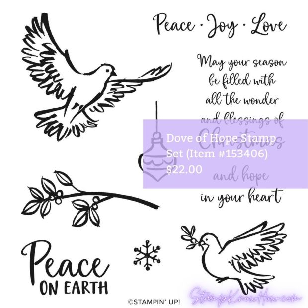 Dove of Hope Stamp Set by Stampin' Up