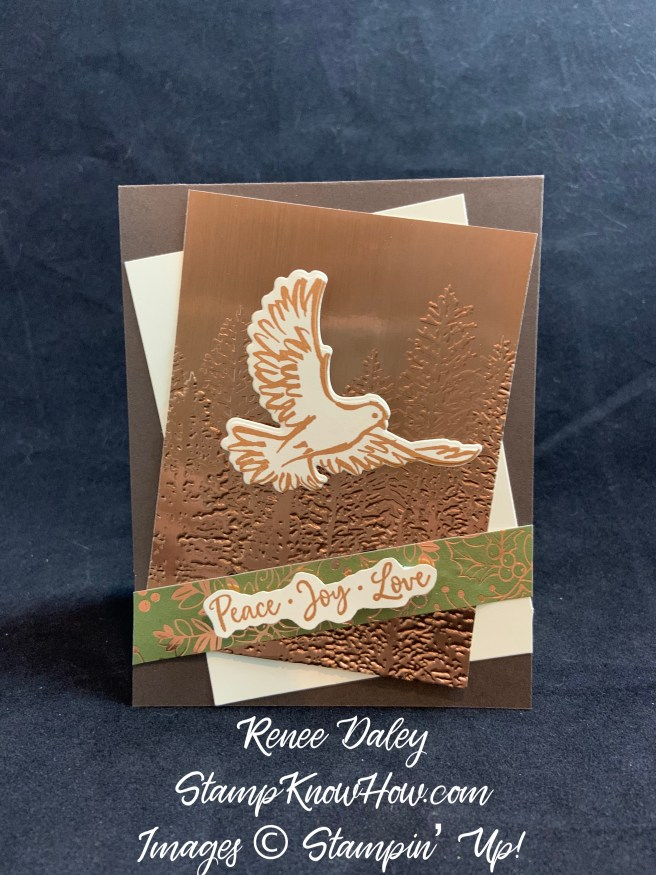 Dove of Hope Christmas Card
