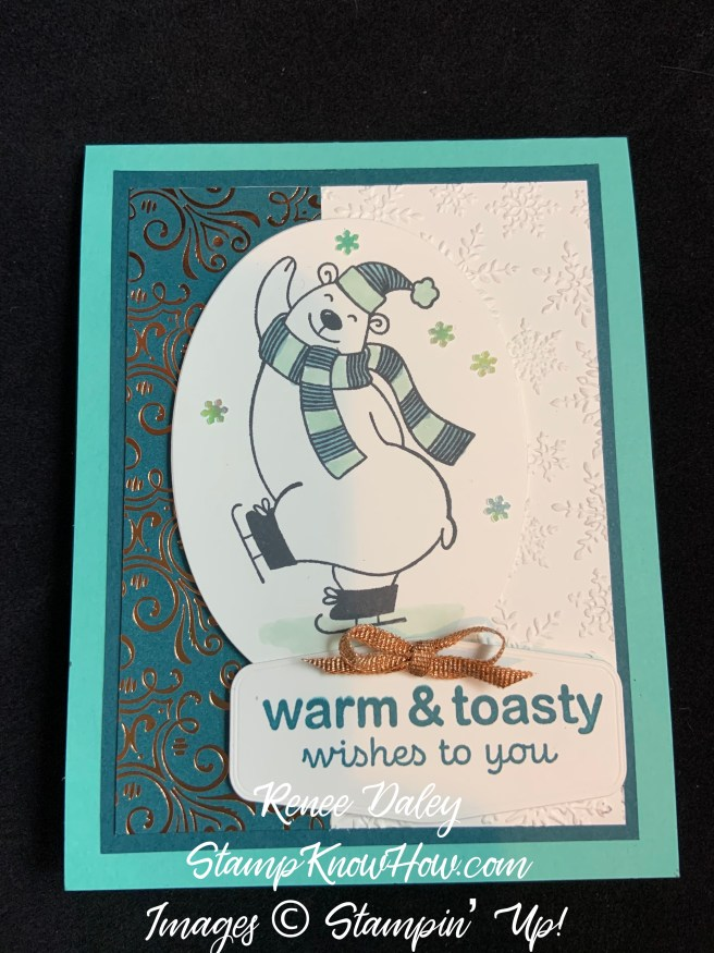 Warm & Toasty Winter Card