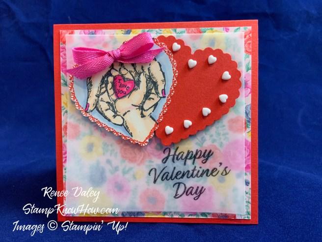 Treasures of Life Valentine Card