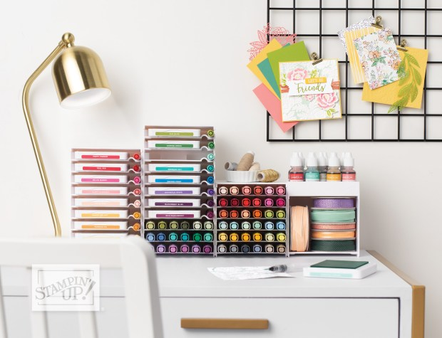 Stampin' Up Storage Options