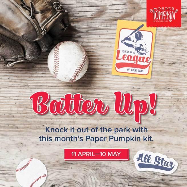May 2021 Paper Pumpkin Kit: Batter Up!