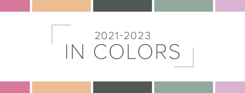 New Stampin' Up In Colors for 2021-2023