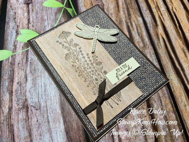 Image of the Dragonfly Garden Friend Card