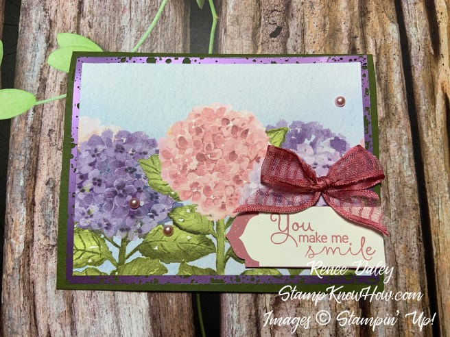 Hydrangea Hill Suite Collection: Hello Card