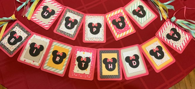 Minnie Mouse Birthday Party Banner Image