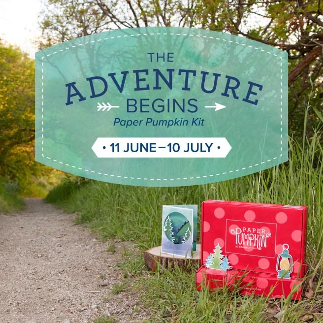 July 2021 Paper Pumpkin Kit: The Adventure Begins
