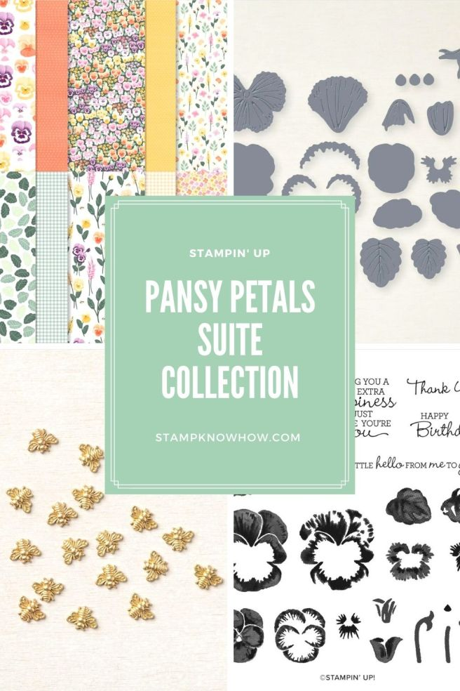 Pansy Petals Suite Collection by Stampin' Up image