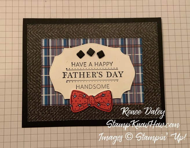 Well Suited Suite Father's Day Card image