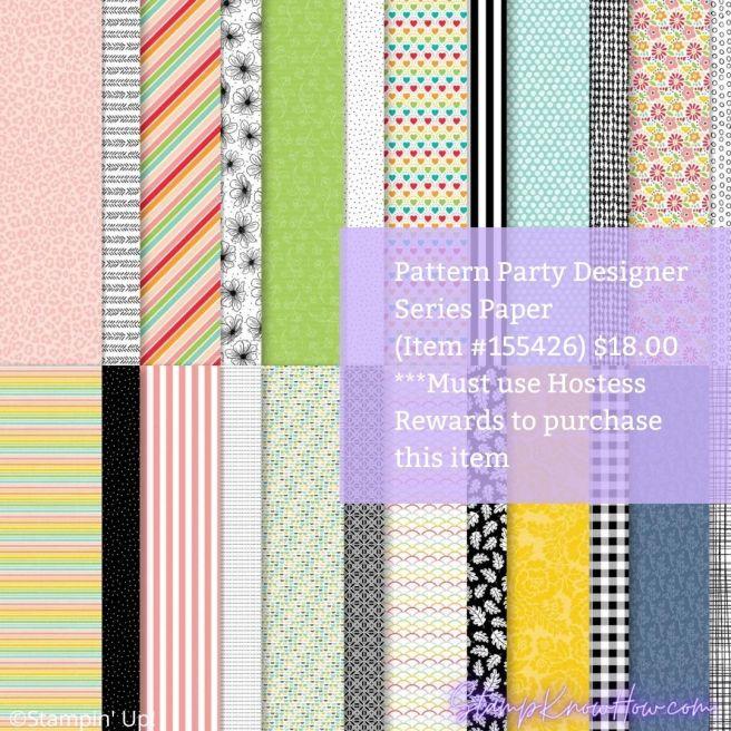 Stampin' Up Pattern Party Designer Series Paper Image