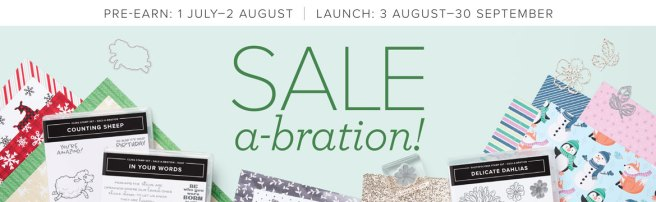 Sale-a-bration Header image