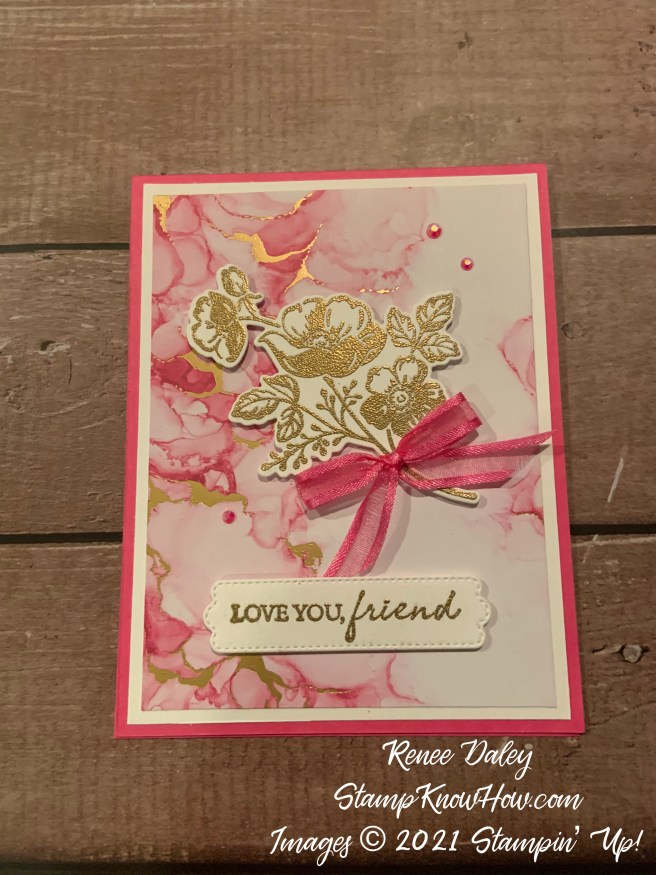 Shaded Summer Friend Card image