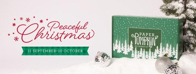 October 2021 Paper Pumpkin Kit: Peaceful Christmas