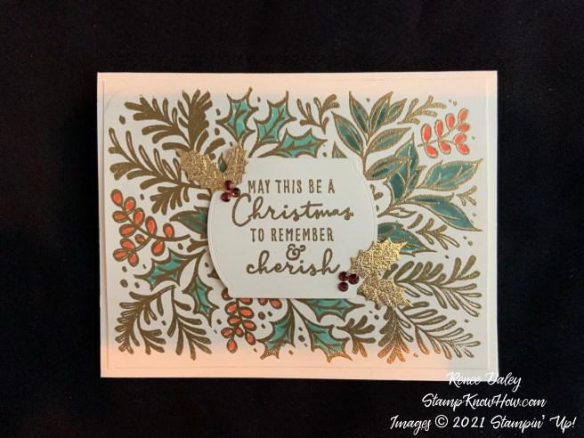 Festive Foliage Christmas Card