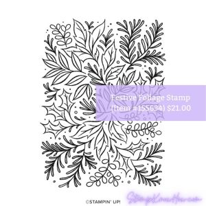 Festive Foliage Stamp Set by Stampin' Up!