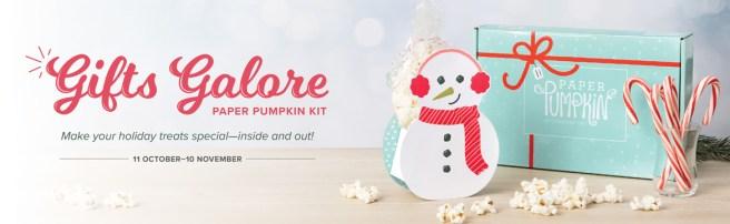 November 2021 Paper Pumpkin Kit