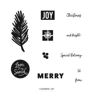 Love Santa Tag Kit Stamp Set