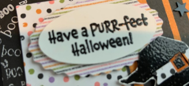 Another Clever Cats Halloween Card