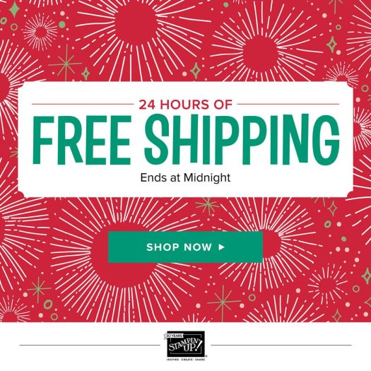 Stampin' Up!, stampmecrafty.com, Free Shipping,