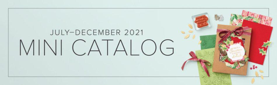 Holiday Mini Catalog 2021-2022, Stampin' Up!, Holiday Craft Ideas, Handmade Cards, Handmade Gift & Treats, Terri George,