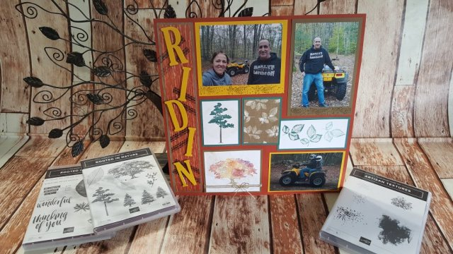 Rooted In Nature Meets One Wild Ride both sets exclusive to Stampin Up!