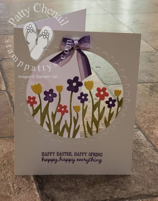 Using only one die from the limited time only, Sending Flowers Dies, you can create this incredible card in minutes!  Get yours today by visiting my site!