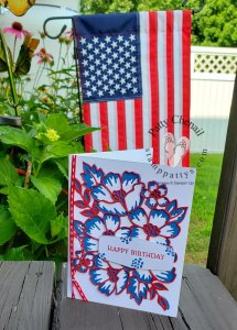Join the Stamper's Dozen Blog Hop team in Celebrating the Red, White, and Blue