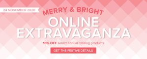 24-Hour Online Extravaganza!  Don't miss out on your chance to stock up on the items you want…