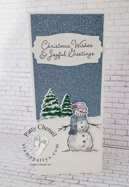 Using the Snow Wonder Bundle and a few other products, I created this fabulous class to go!  Be sure to check out the information on my blog to find out how you can get this class for yourself!
