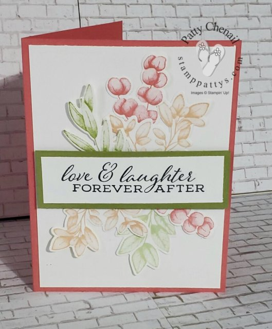 A gorgeous class to go showcasing the Forever Fern bundle from Stampin' Up!  You too and make these awesome projects!  message me for your kit today!