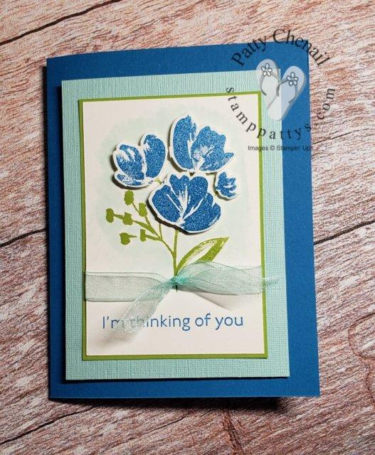 Quick and simple project using the Art Gallery Bundle from the Stampin' Up Jan to June mini catalog.