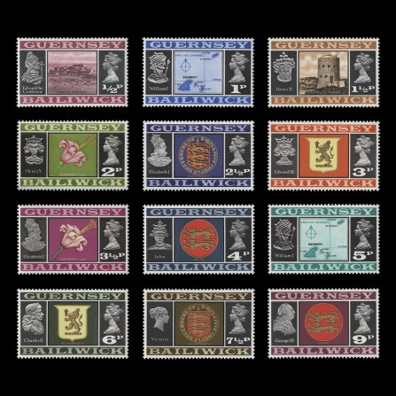 Decimal definitives issued 15 February 1971