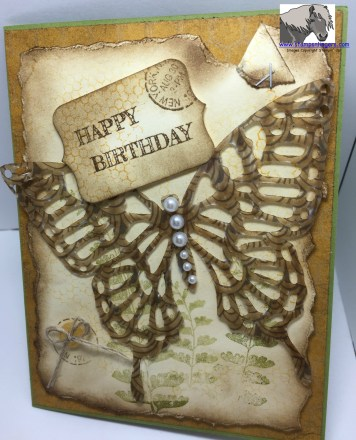 Vintage Butterfly Happy b-day Outside 2 watermarked